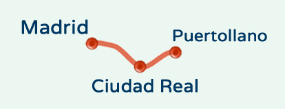 Ruta de MADRID - CR - PUERTOLLANO